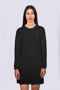 Frauen Sweatshirtkleid aus Bio-Baumwolle, Langarm Kleid - vis wear