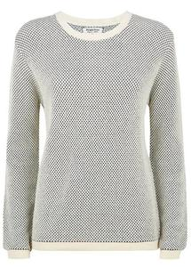 Lana textured jumper - People Tree