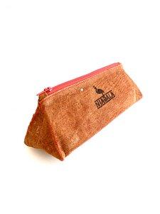 Federmäppchen/ Schlampermäppchen Dreieck aus Baumrinde - Njagala