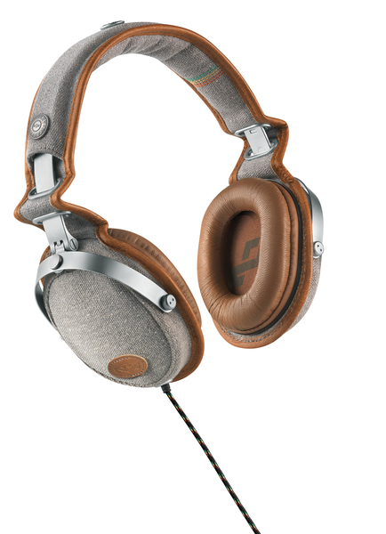 House of Marley Rise Up Over Ear Kopfhörer Braun Grau