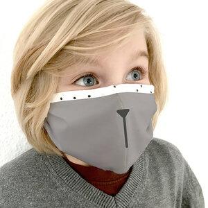 Bio-Baumwollmaske für Kinder (Organic) - Medibino