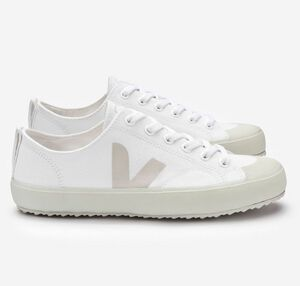 Sneaker Damen Vegan - Nova Canvas - White Pierre - Veja
