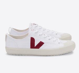 Sneaker Damen Vegan - Nova Canvas - White Marsala - Veja