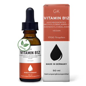 Vitamin B12 Tropfen 50ml - GK Nutrition