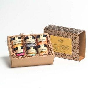 SoulSpice Indische Kollektion Bio Geschenkbox - SoulSpice