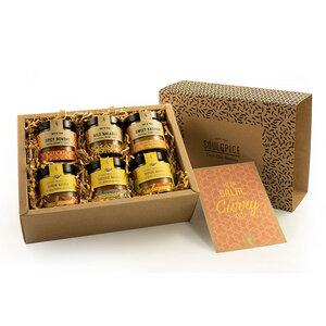 SoulSpice Curry & Masala - Kollektion - Geschenkbox BIO - SoulSpice