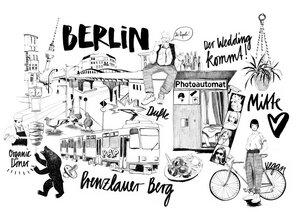 Berlin 2 - Poster von Ekaterina Koroleva - Photocircle
