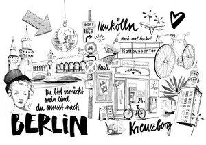 Berlin 1 - Poster von Ekaterina Koroleva - Photocircle