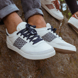 Sneaker Saigon - Ninh Binh - Blue Grey - N'go Shoes
