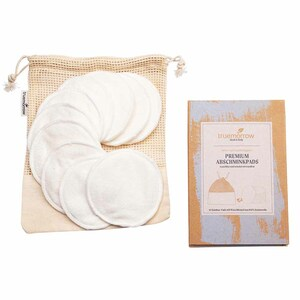 Premium Abschminkpads, wiederverwendbar, waschbar, 10 Stück - truemorrow