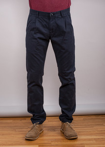 Baggy Pleat Chinos - KnowledgeCotton Apparel