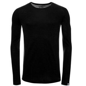Herren Merino Shirt Langarmarm Slimfit 200 - Kaipara - Merino Sportswear