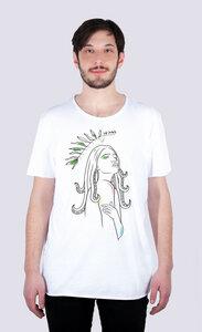 Göttin des Meeres, Männer Skate T-Shirt aus Bio-Baumwolle - vis wear