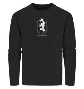 "Organic Herren Sweatshirt ""Vegan Badass"" - BVeganly"