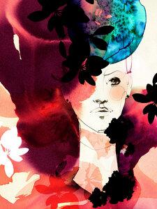 Valerie - Poster von Ekaterina Koroleva - Photocircle
