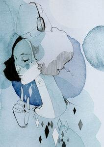 Alva - Poster von Ekaterina Koroleva - Photocircle