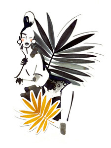 Palmé - Poster von Ekaterina Koroleva - Photocircle