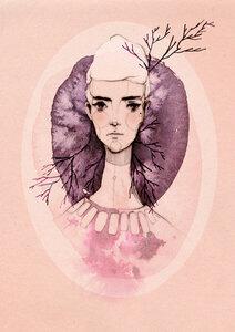 Lilac - Poster von Ekaterina Koroleva - Photocircle