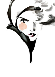 Winterliese - Poster von Ekaterina Koroleva - Photocircle