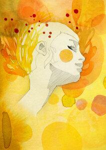 Summer - Poster von Ekaterina Koroleva - Photocircle