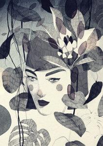 Dark Summer - Poster von Ekaterina Koroleva - Photocircle