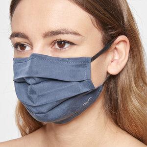 Mund-Nasen-Maske aus Tencel mit Nasenbügel - Givn BERLIN