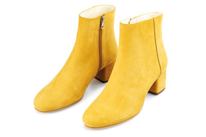 NINE TO FIVE Ankle Boot #Strand cosey honey - NINE TO FIVE
