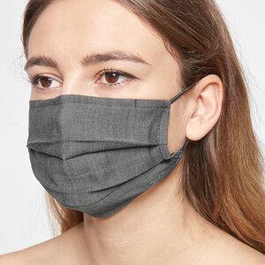 Mund-Nasen-Maske aus Lyocell mit Nasenbügel - stoffbruch