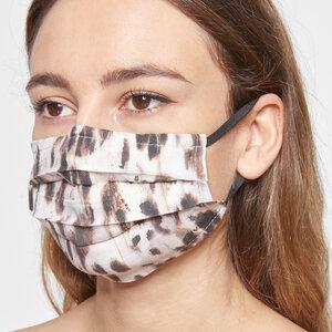 Mund-Nasen-Maske aus Viskose (ECOVERO) mit Nasenbügel - Givn BERLIN