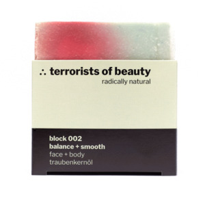Seife block 002 ∴ balance + smooth, body + face - terrorists of beauty