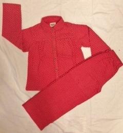 Flanell-Schlafanzug mit Punkten - Kite Kids