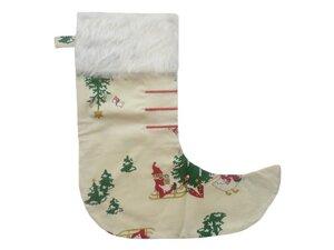 Nikolausstiefel Schlitten, aus Reststoffen, Upcycling von Leesha - Leesha