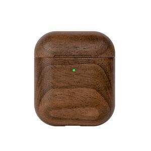 AirPods Hülle Holz, Nachhaltiges Case für Apple AirPods aus Walnuss Holz - Woodcessories