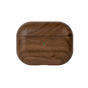 AirPods Hülle Holz, Apple AirPods Pro Hülle aus Holz (Walnuss) - Woodcessories