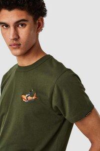 "T-Shirt ""Darius Koiboy"" mit Stickerei, aus Bio-Baumwolle - Kings Of Indigo"