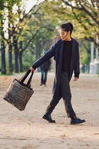 """Shopper Handtasche """"ELVIA"""" aus Schurwolle und Baumwolle, handgefertigt in Lateinamerika - Nata Y Limón"""