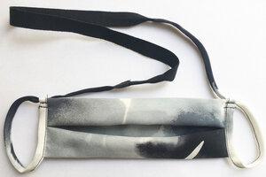 Mund-und-Nasen-Maske aus Seide (gewaltfreie Seide) - NINA REIN
