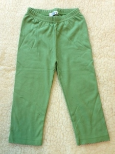 Leggings mintgrün - Cotton People Organic