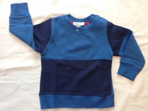 Sweater blau-dunkelblau - Cotton People Organic
