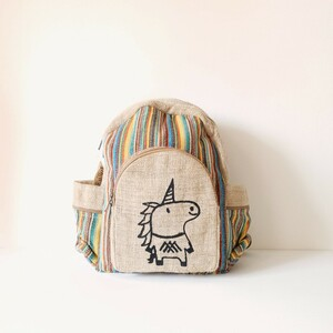 HH Rucksack UNICORN aus Hanf von Himal Hemp (Backpack Medium) - Himal Hemp