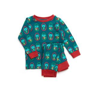 Little Green Radicals Pyjama Bär bedruckt - Little Green Radicals