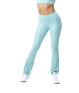 """Hochgeschnittene Fitnesshose """"Lanasia"""" mit weitem Bein und Shape Effekt - LANASIA"""