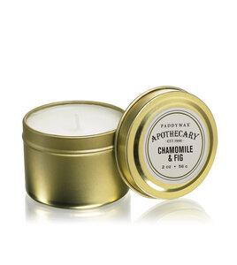 Duftkerze Apothecary in hübscher Metalldose - Paddywax