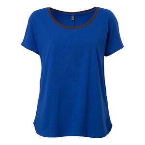 ThokkThokk TT17 Oversize Woman T-Shirt Blue - THOKKTHOKK