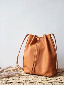 """pikfine Eco Leder bucket bag """"Jolena"""" - pikfine"""