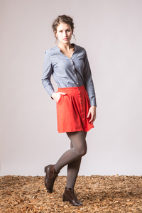 Rock - ORIENTAL PIPIT - poppy red - GLIMPSE Clothing