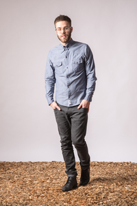 Hemd - INDIAN ROLLER - jeans blue - GLIMPSE Clothing
