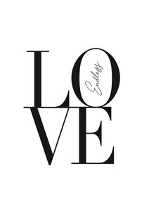 Endless Love - Poster von Christina Ernst - Photocircle