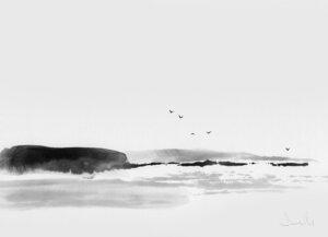 Rock - Poster von Dan Hobday - Photocircle