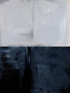 Blue Horizon - Poster von Dan Hobday - Photocircle
